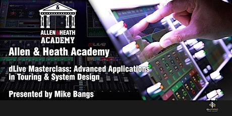 Allen & Heath Academy, Northern Virginia (dLive) tickets
