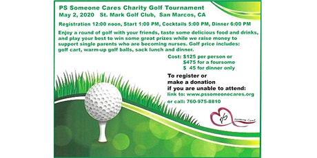 PS Someone Cares Golf Tournament tickets