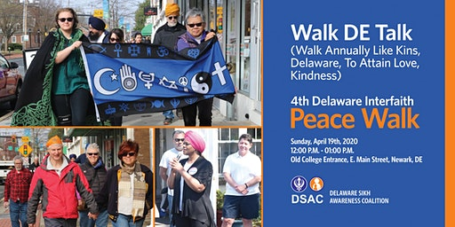 4th Annual Delaware Interfaith Peace Walk