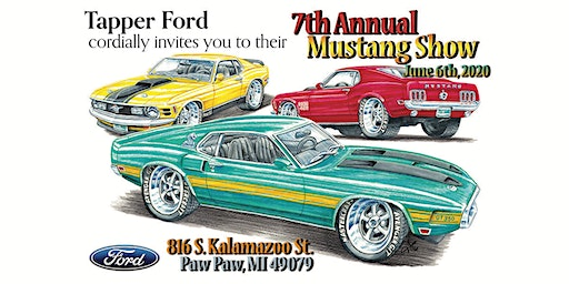 7th Annual Mustang Show- Tapper Ford