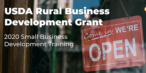 2020 Small Business Development Training - Cottage Food Industry