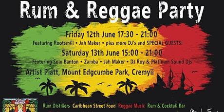 Rum & Reggae Party tickets