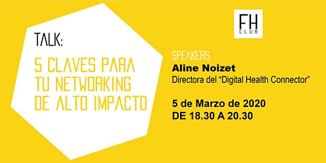 5 Claves para tu Networking de Alto Impacto tickets