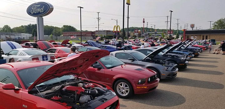 7th Annual Mustang Show- Tapper Ford (Cruise) image