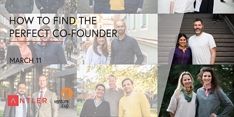 Antler x VentureCup - How to find the perfect co-founder tickets