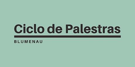 CICLO DE PALESTRAS ingressos