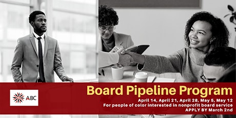 ABC's Board Pipeline Spring 2020 - APPLY BY MARCH 2 tickets