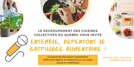 Ensemble, repensons le gaspillage alimentaire !