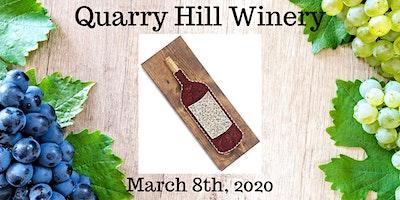 Wine Bottle String Art Workshop