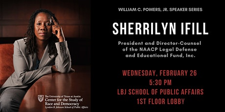 The CSRD Presents Sherrilyn Ifill tickets