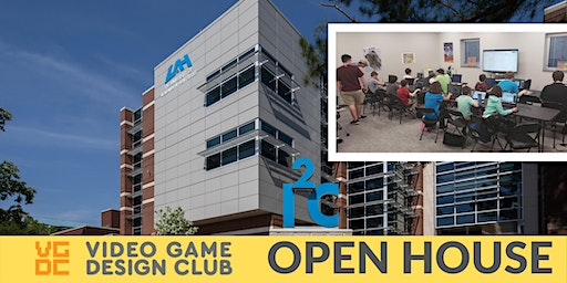 Spring Open House - Video Game Design Club @ UAHuntsville