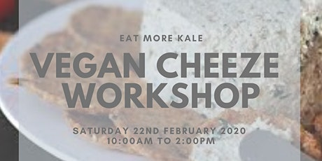 Vegan Cheeze Workshop tickets