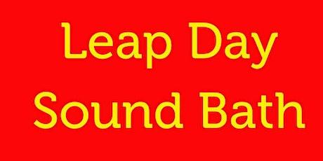 Leap Day Sound Bath tickets