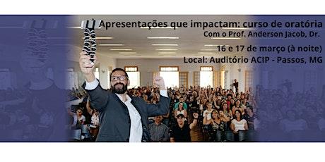 Apresentações que impressionam - curso de oratória ingressos
