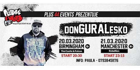 donGURALesko Manchester tickets