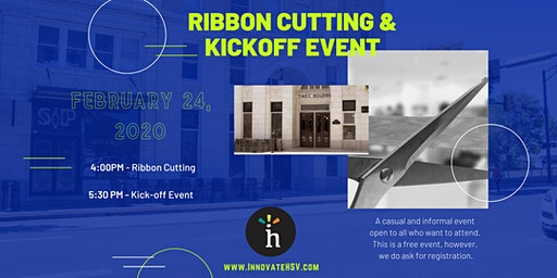 Innovate Huntsville 2020 Ribbon Cutting and Kickoff Event