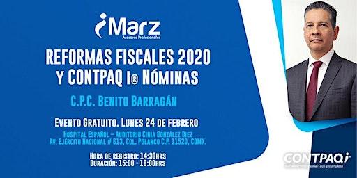 Reformas Fiscales 2020 y CONTPAQi® Nóminas