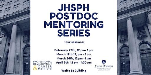 JHSPH POSTDOC MENTORING SERIES