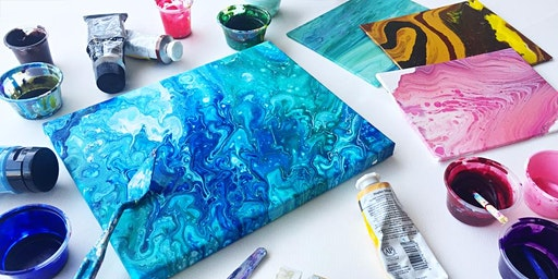 Introduction to Acrylic Pouring  Workshop