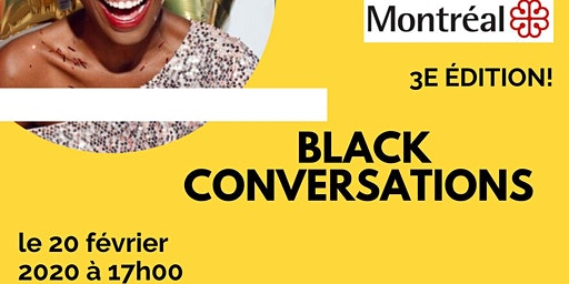 BLACK CONVERSATIONS I CONVERSATIONS NOIRES 2020