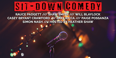 Sit-Down Comedy Show — Feb 2020 tickets