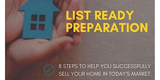 List Ready Preparation - Seller's Workshop