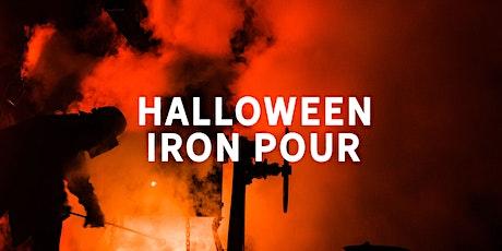 Halloween Iron Pour tickets
