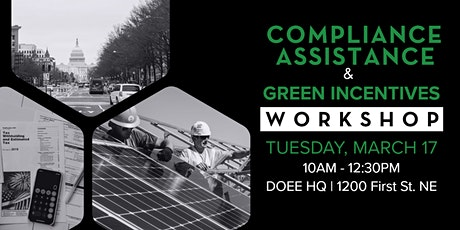Compliance Assistance and Green Incentives for District Buildings tickets