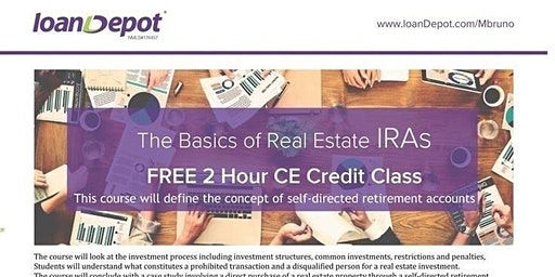 C.E. Credits  Self-Directed IRA