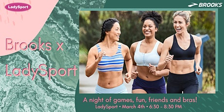 Brooks x LadySport Bra Night tickets