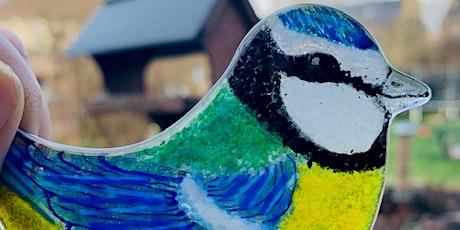 Three Fused Glass Birds Workshop tickets
