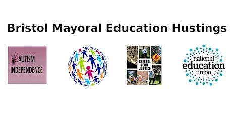 Bristol Mayoral Education Hustings tickets