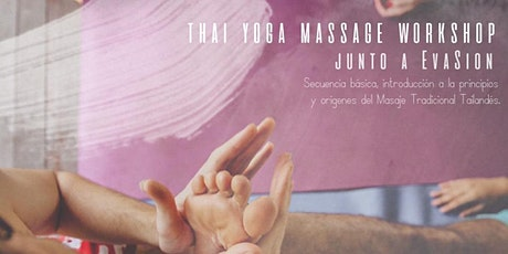 ThaiYoga Massage workshop entradas