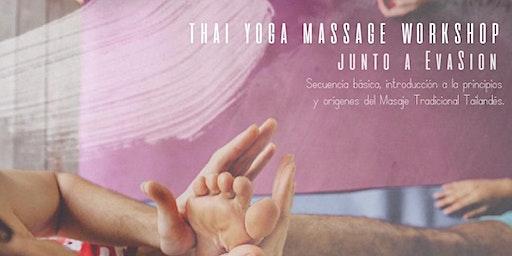 ThaiYoga Massage workshop
