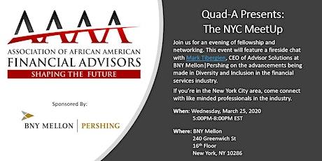 Quad-A Presents: The New York City MeetUp tickets