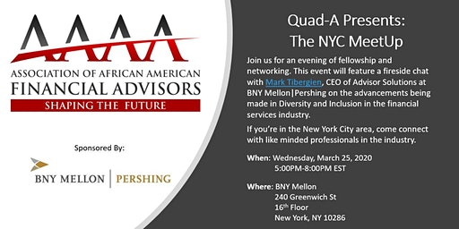 Quad-A Presents: The New York City MeetUp