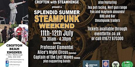 Crofton Steampunk Weekend 2020 - STANDARD tickets