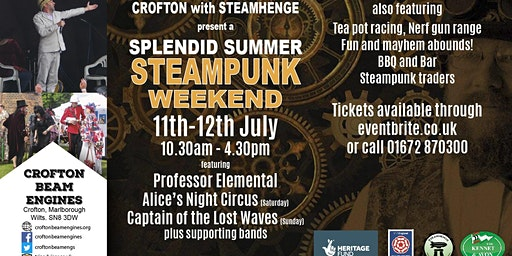 Crofton Steampunk Weekend 2020 - STANDARD