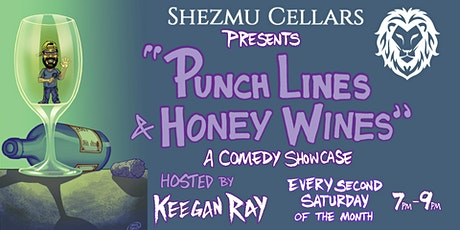 Punchlines & Honey Wines: A Comedy Showcase tickets