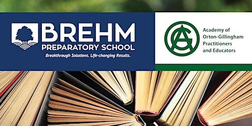 Brehm Preparatory School - Orton-Gillingham Associate Level Training