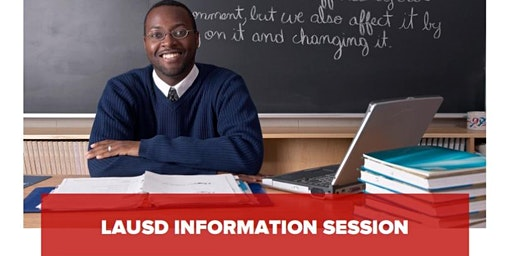 LAUSD Information Session - Thursday, March 26th