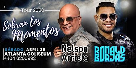 Nelson Arrieta  y Ronald Borjas tickets