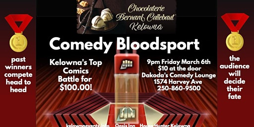 Chocolaterie Benard Callebaut presents Comedy Bloodsport