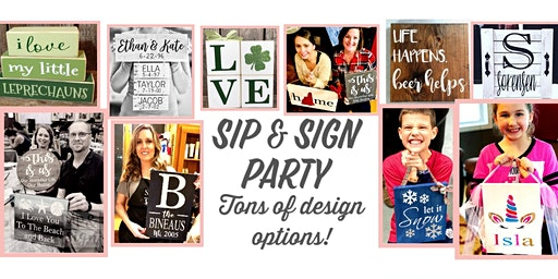 Sip & Sign Private Event - Kathleen H.