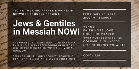 Jews & Gentiles in Messiah NOW! tickets
