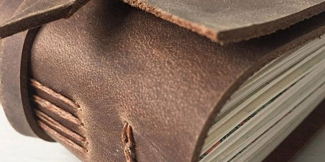 Leather Journal Making Workshop | Long Stitch Bound Leather Journal tickets
