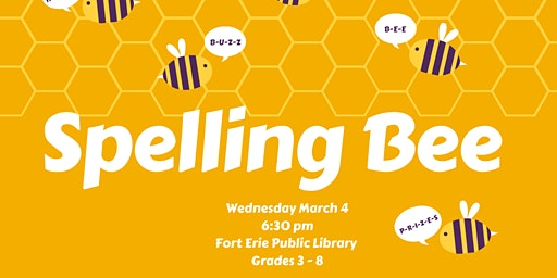 Spelling Bee - Grades 3 & 4