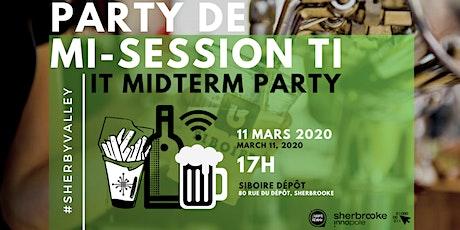 5@8 PARTY DE MI-SESSION TI | IT MIDTERM PARTY billets