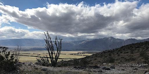 Coyote Mountain Overlook in Anza-Borrego Desert