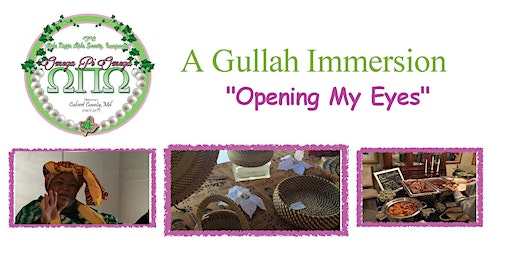 "A Gullah Immersion:  ""Opening My Eyes"""